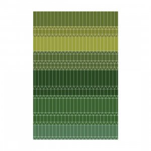 Moooi Carpets Zig Zag Vloerkleed Groen