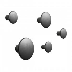 Muuto The Dots Metal Haken, 5 Stuks