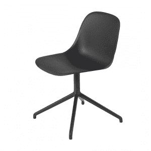 Muuto Fiber Side Chair Stoel, draaibaar