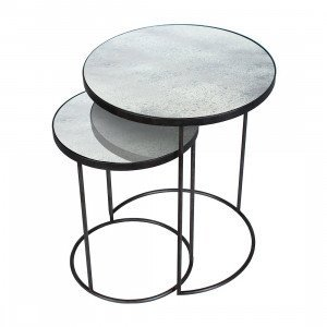 Notre Monde Nesting Side Table, set van 2