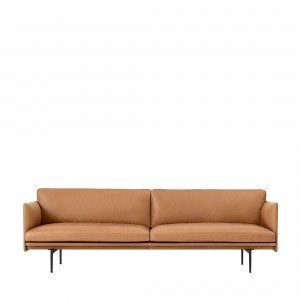 Muuto Outline Bank, 3-zits