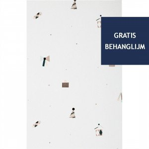 Ferm Living Party Behang (op=op)
