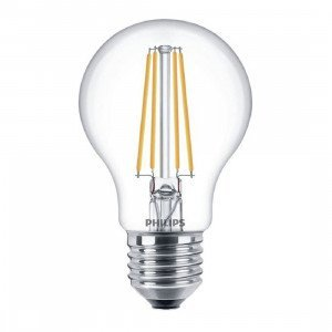 Philips LED E27 Filament Lichtbron 8W Dimbaar