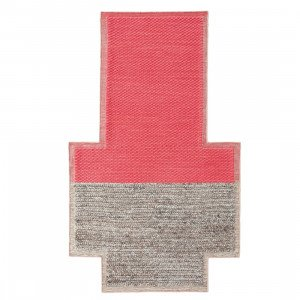 Gan Rugs Plait Mangas Space Vloerkleed Coral