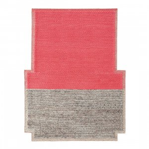 Gan Rugs Plait Mangas Space Vloerkleed Coral M