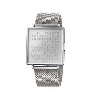 Biegert & Funk Qlocktwo Watch Fine Steel