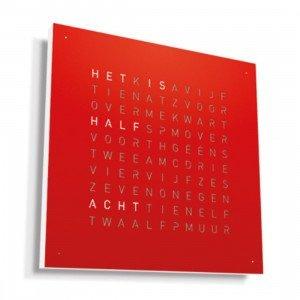 Biegert & Funk Qlocktwo Classic Metaal Klok Nederlands