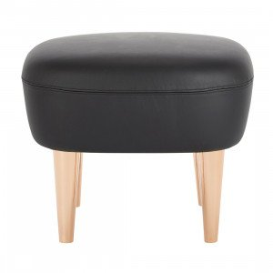 Tom Dixon Wingback Hocker Leder