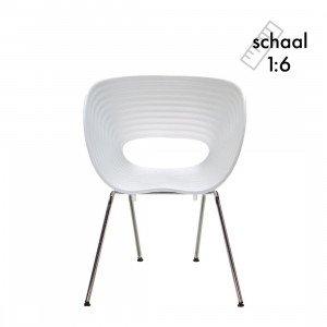 Vitra Tom Vac Chair Miniatuur
