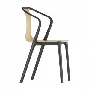 Vitra Belleville Armstoel Wood