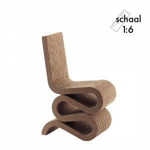 Vitra Wiggle Side Chair Miniatuur
