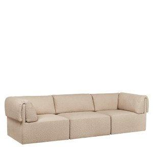 Gubi Wonder Sofa 3-zits Bank