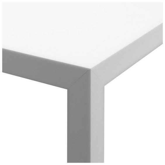 Witte Eettafel 180x90.Mdf Italia Tense Eettafel Wit Misterdesign
