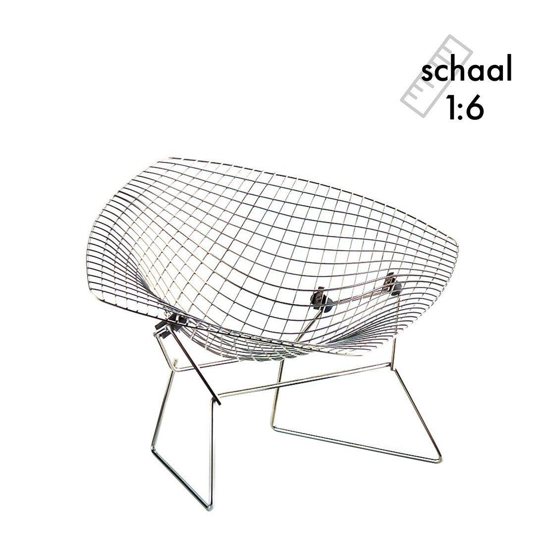 Diamond Chair Miniatuur - Vitra