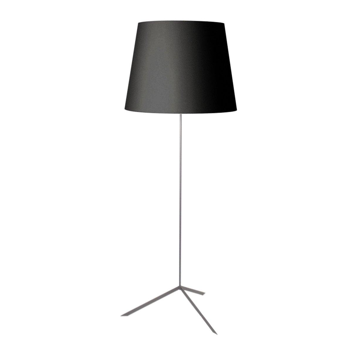Moooi Double Shade Vloerlamp Zwart