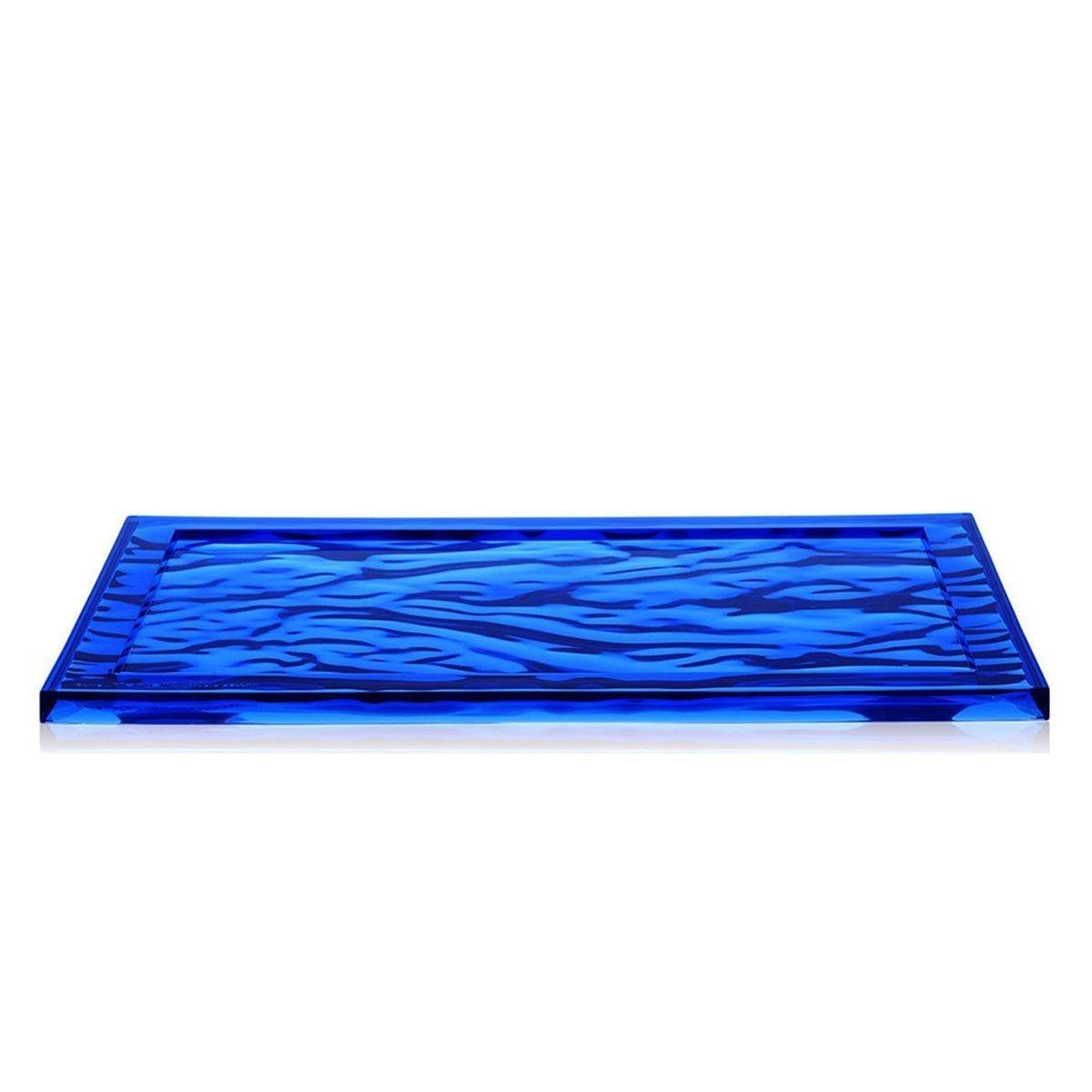 Kartell Dune Dienblad - Groot - Blauw