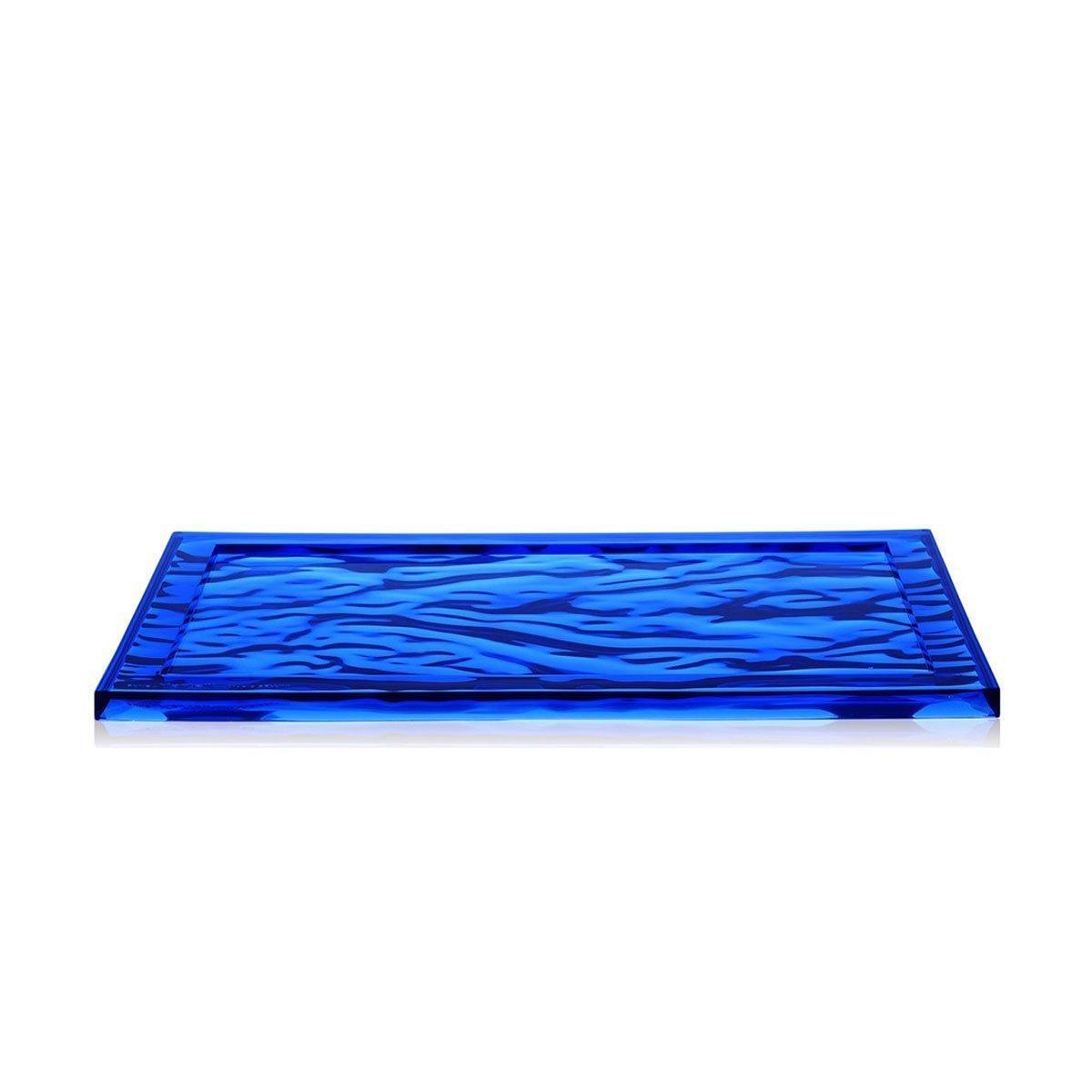 Kartell Dune Dienblad - Klein - Blauw