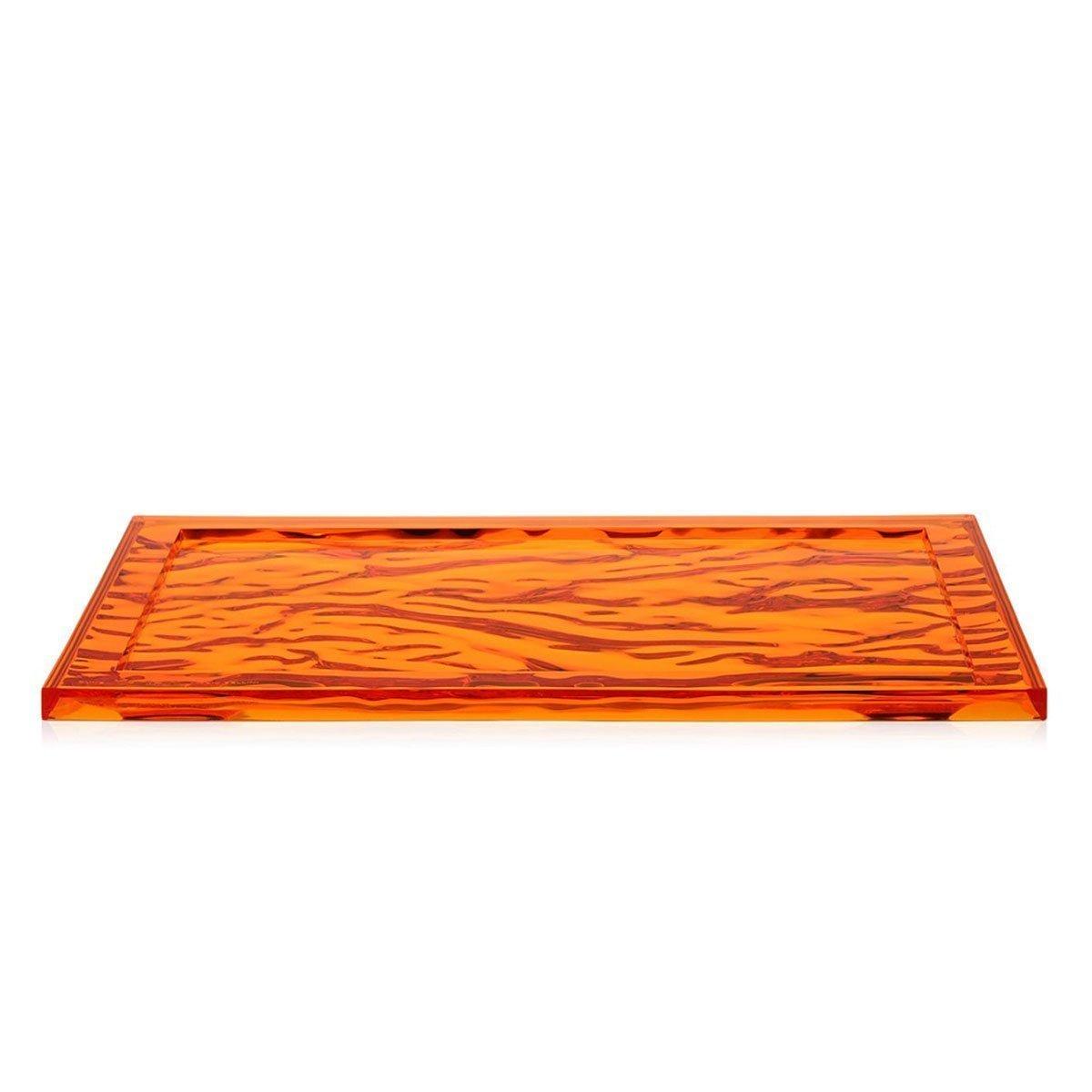 Kartell Dune Dienblad - Groot - Oranje