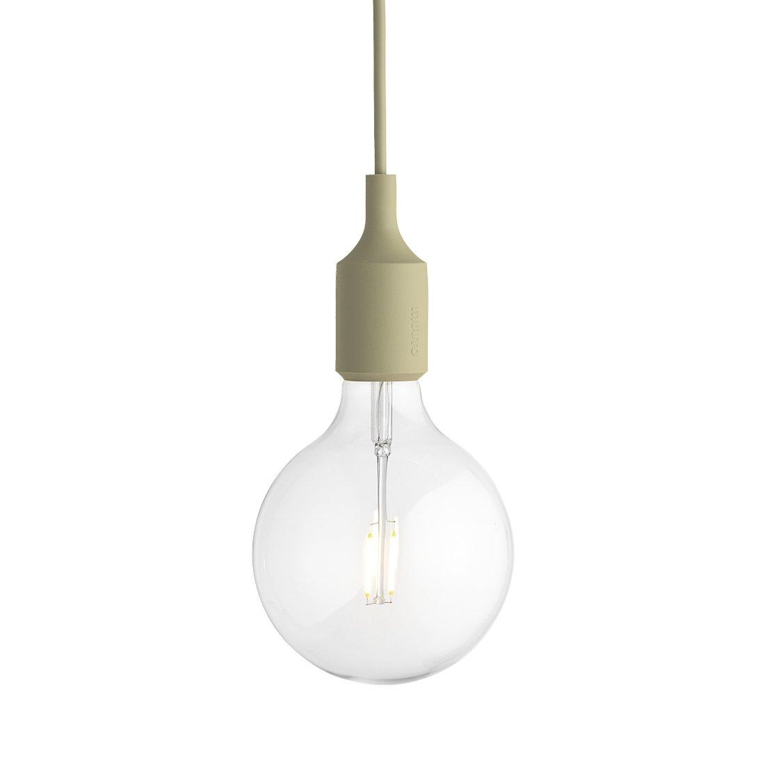 Muuto E27 Socket Hanglamp LED Beige-Green