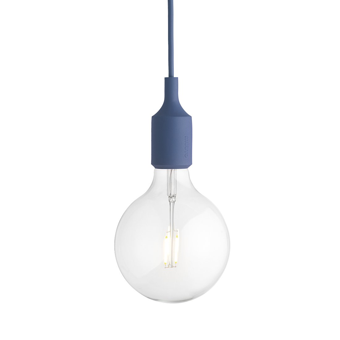 Muuto E27 Socket Hanglamp LED Pale Blue