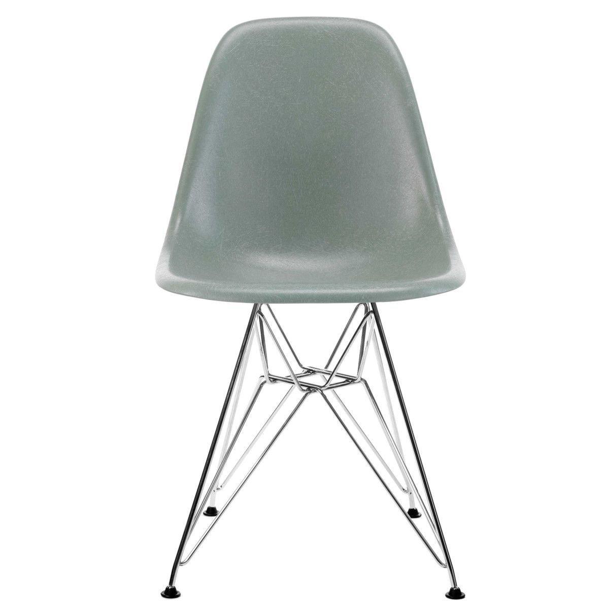 Vitra Eames Fiberglass Chair DSR - Sea Foam Green/Chroom