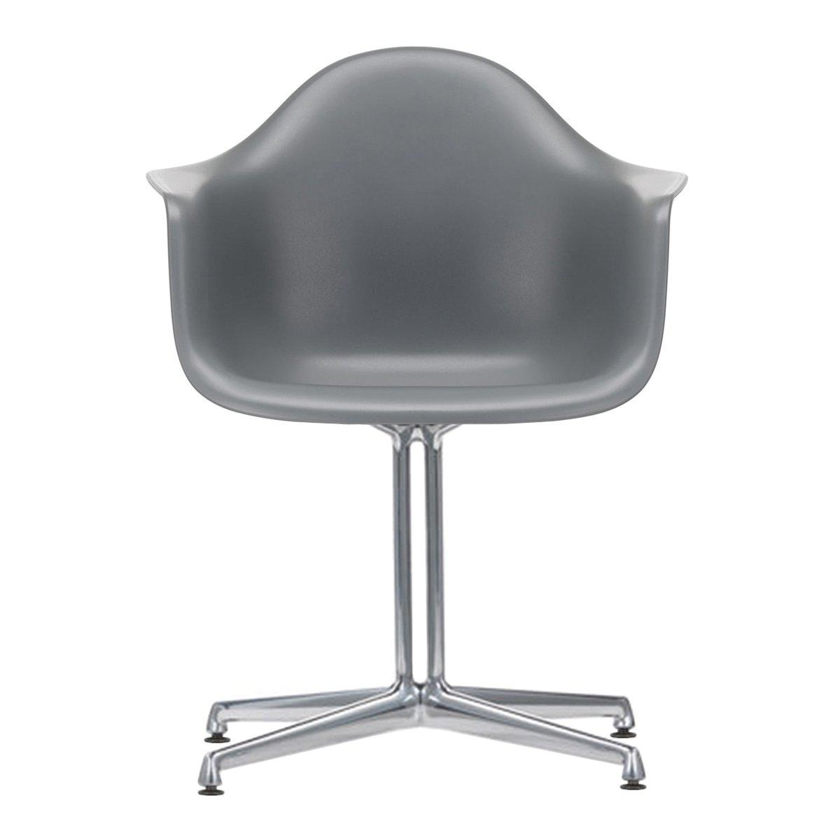 Vitra Eames Plastic Chair DAL Armstoel - Granite Grey