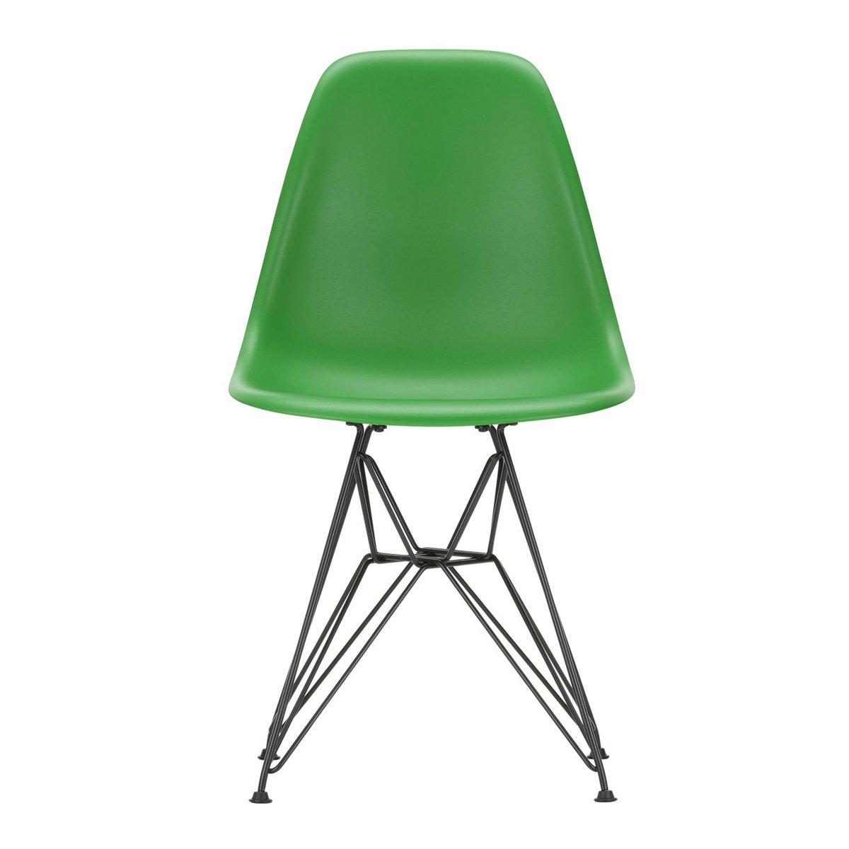 Vitra Eames DSR Stoel Zwart Onderstel - Green