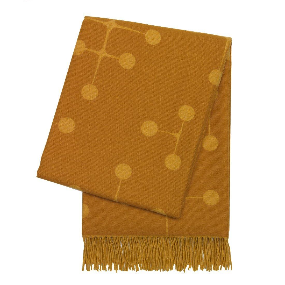 Vitra Eames Wool Deken Mustard
