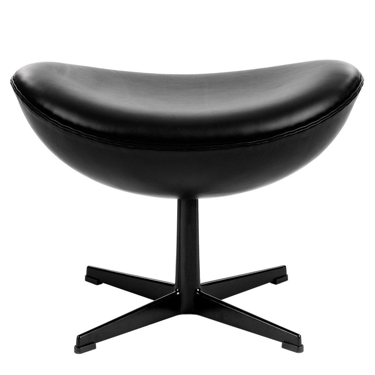 Fritz Hansen MisterDesign Limited Edition Dark Side Of The Moon Egg Chair Voetenbank