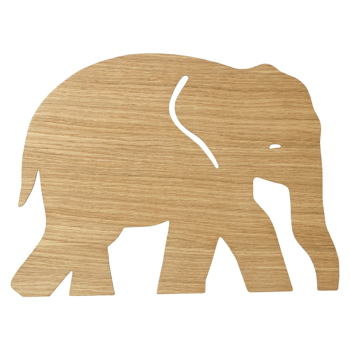 Ferm Living Elephant Wandlamp - Oiled Oak