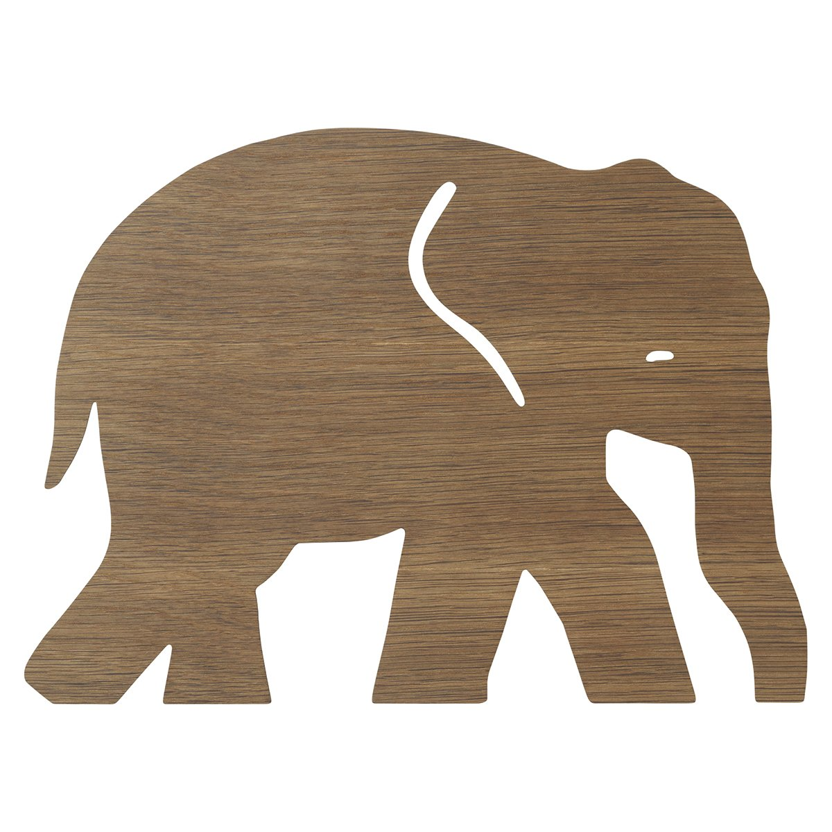 Ferm Living Elephant Wandlamp - Smoked Oak