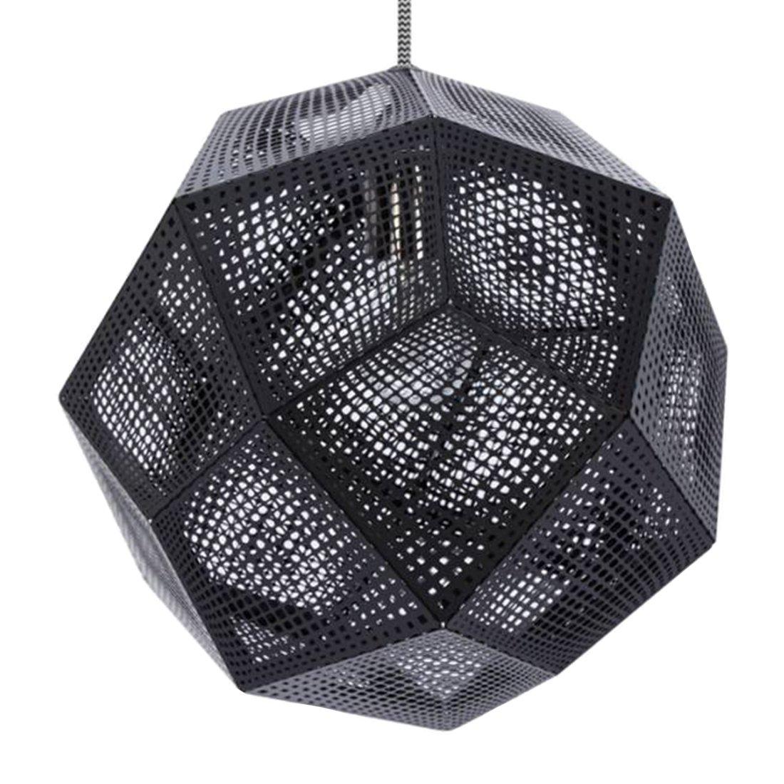 Tom Dixon Etch Shade Hanglamp Zwart
