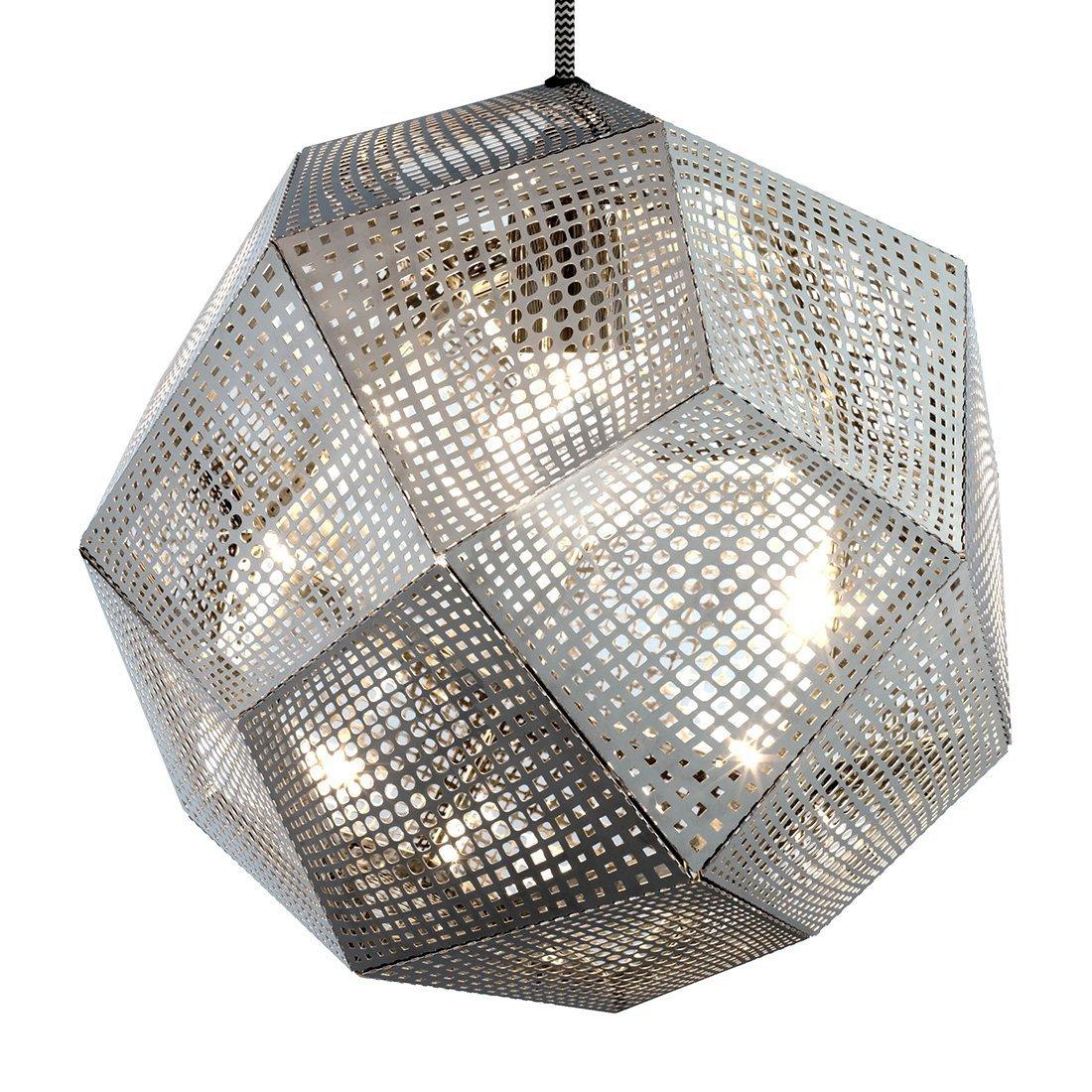 Tom Dixon Etch Shade Hanglamp RVS