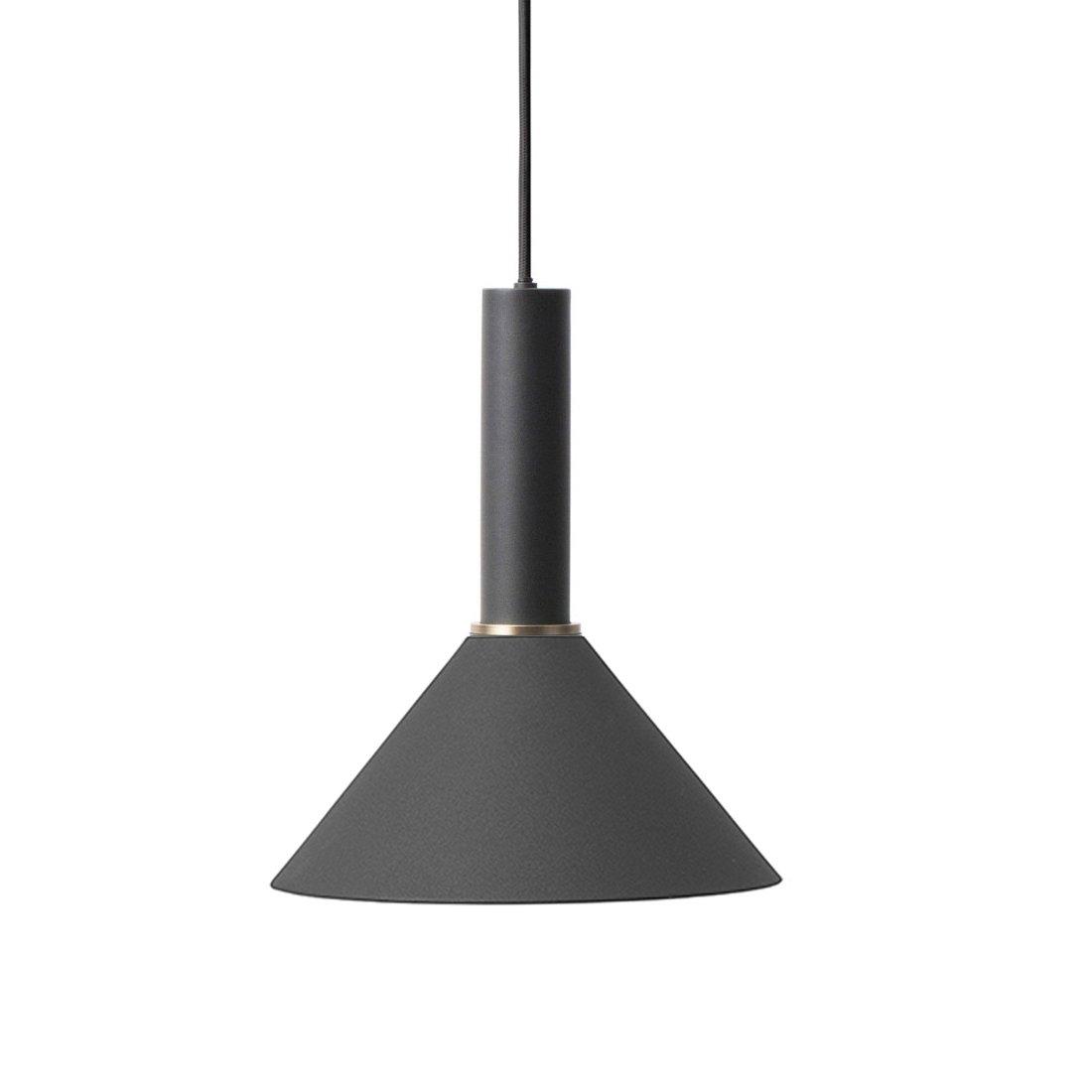 Ferm Living Collect Cone Zwart High Hanglamp