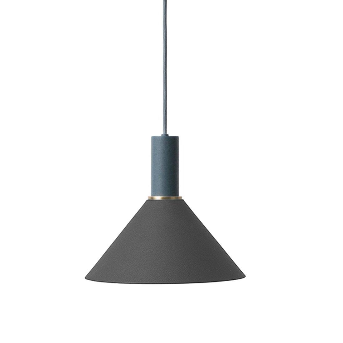 Ferm Living Collect Cone Zwart Low Hanglamp