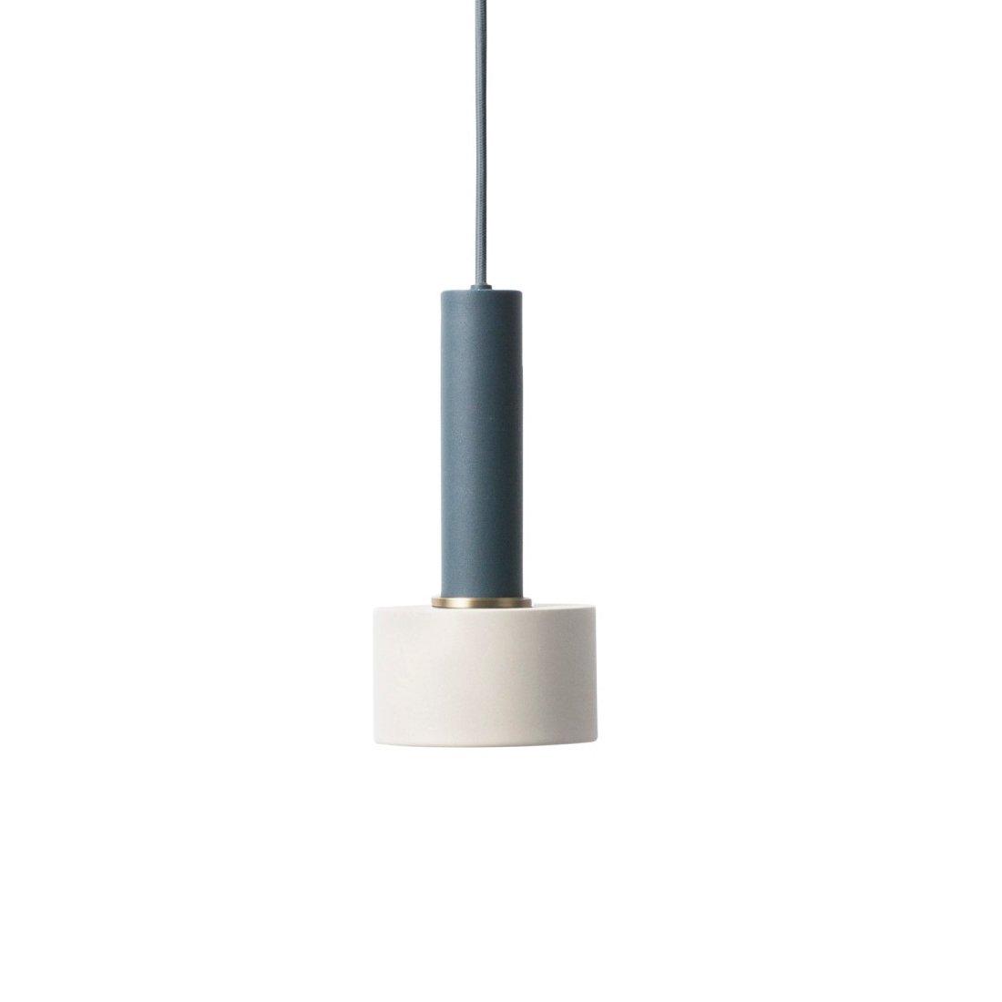 Ferm Living Collect Disc Lichtgrijs High Hanglamp