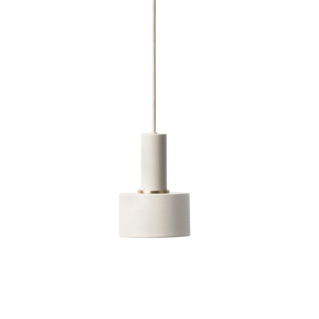Ferm Living Collect Disc Lichtgrijs Low Hanglamp