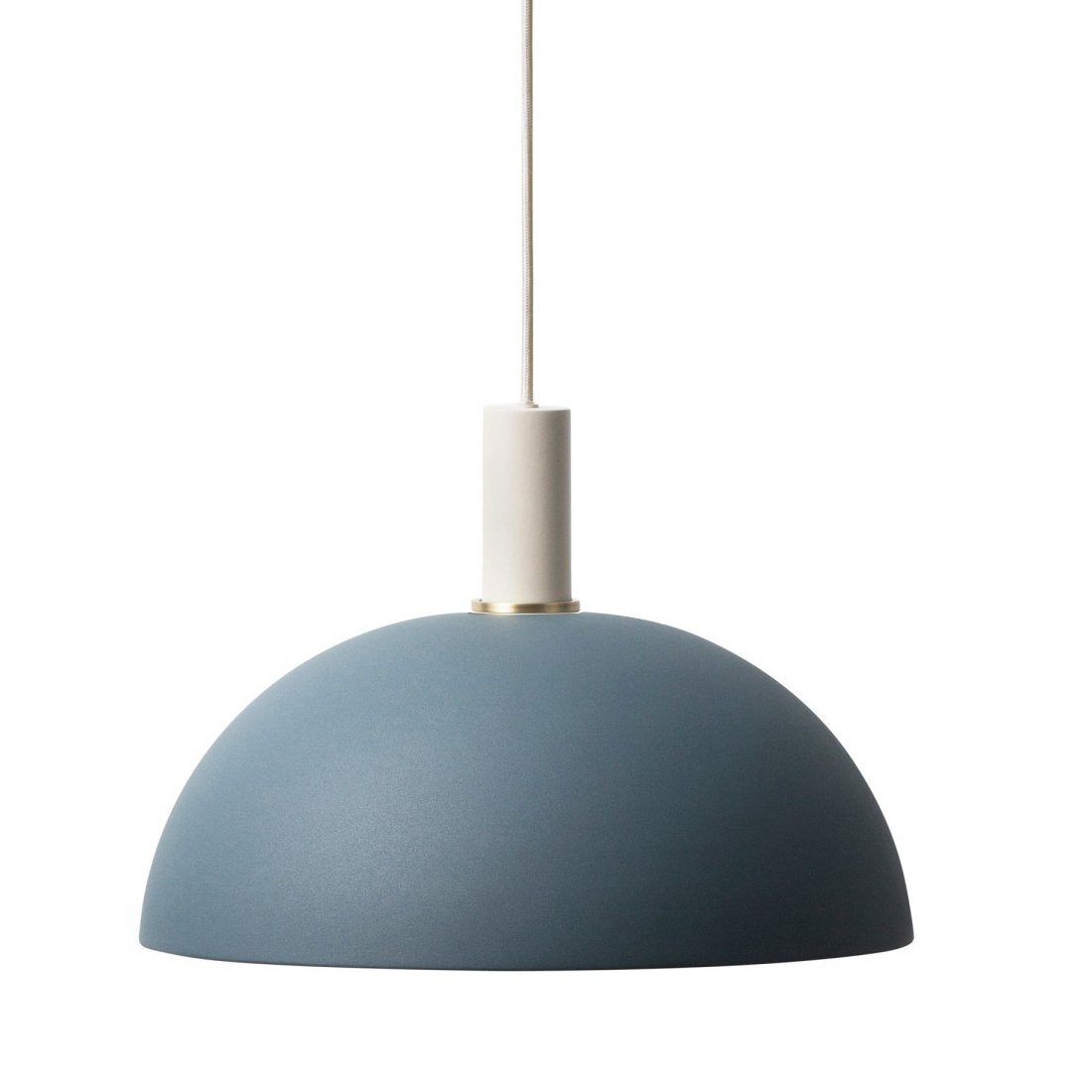 Ferm Living Collect Dome Donkerblauw Low Hanglamp