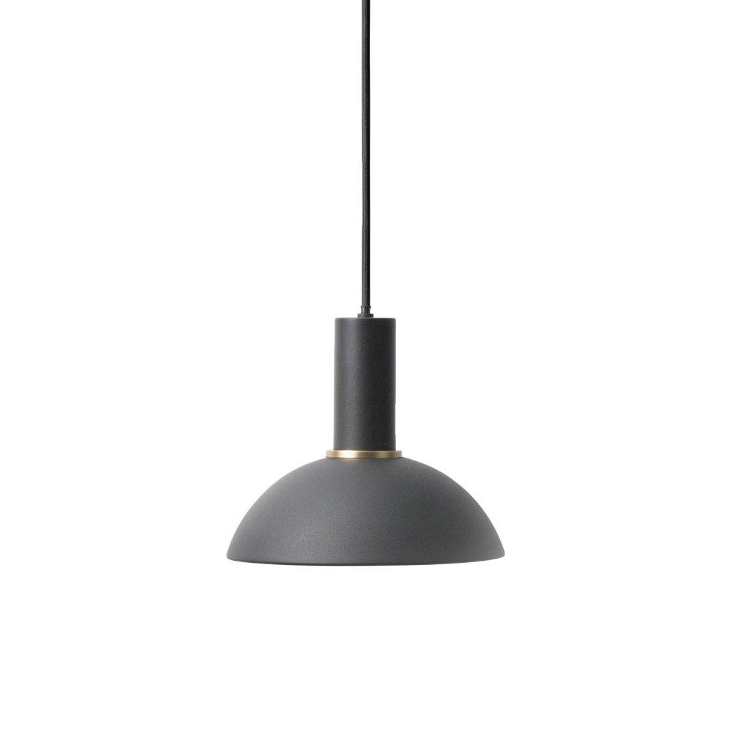 Ferm Living Collect Hoop Low Hanglamp Zwart
