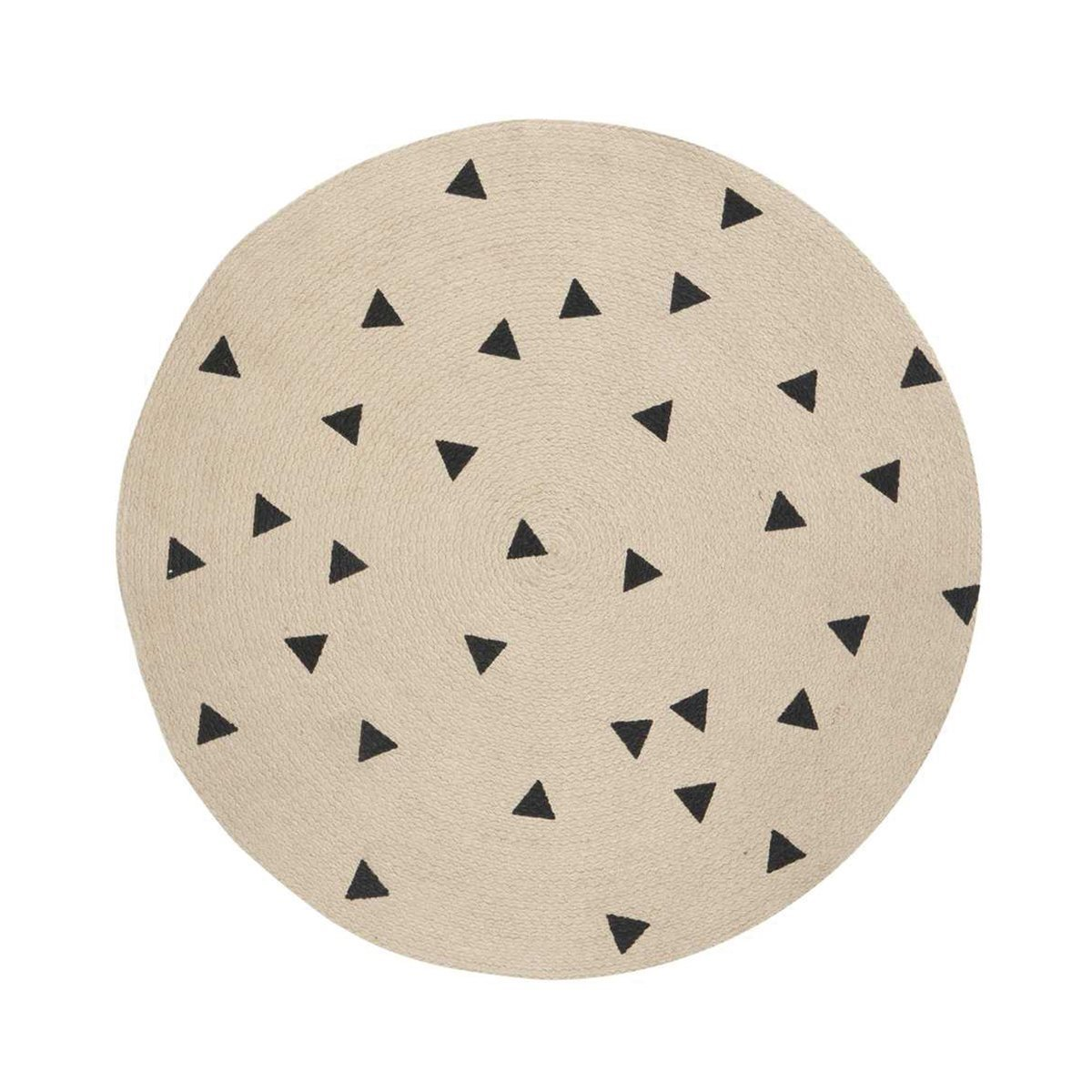 Round Carpet Triangle Vloerkleed - Ferm Living