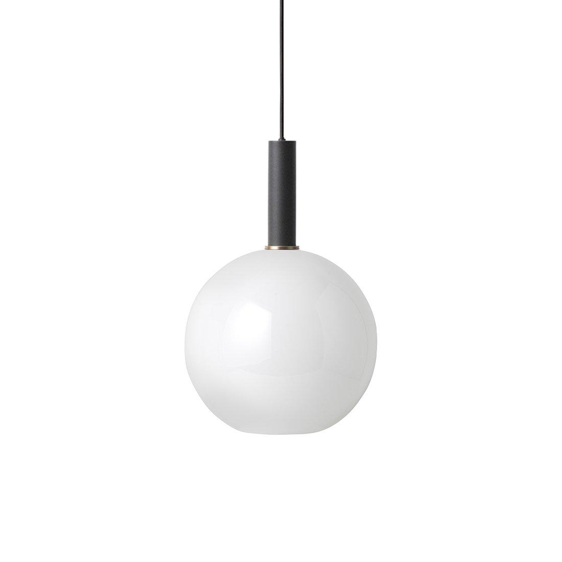 Ferm Living Collect Opal Sphere High Hanglamp Zwart