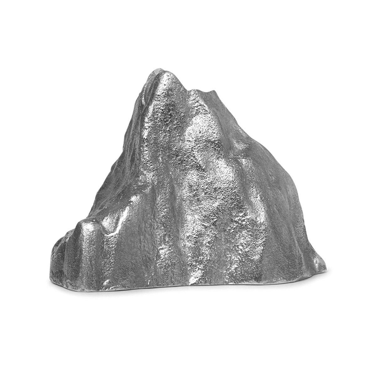 Ferm Living Stone Kaarsenhouder - Large/Aluminium