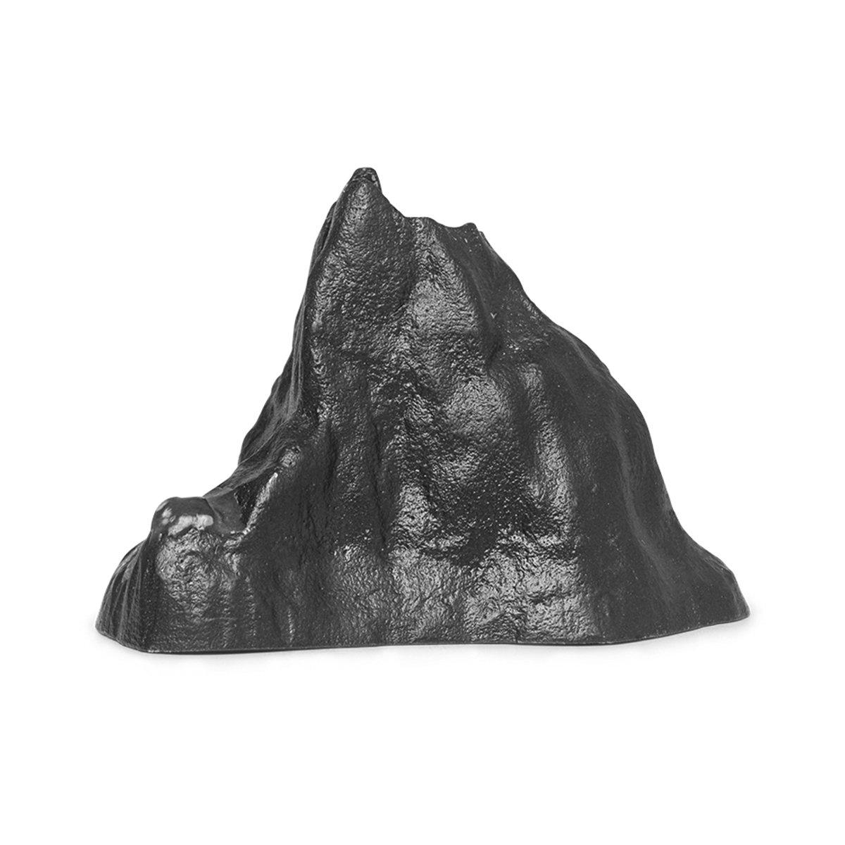 Ferm Living Stone Kaarsenhouder - Large/Zwart