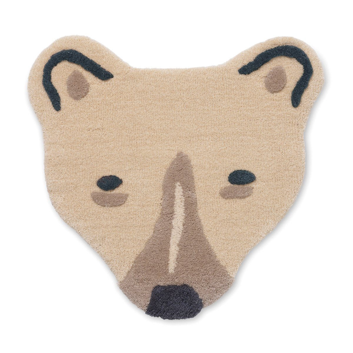 Ferm Living Polar Bear Head Tufted Wand- en Vloerkleed