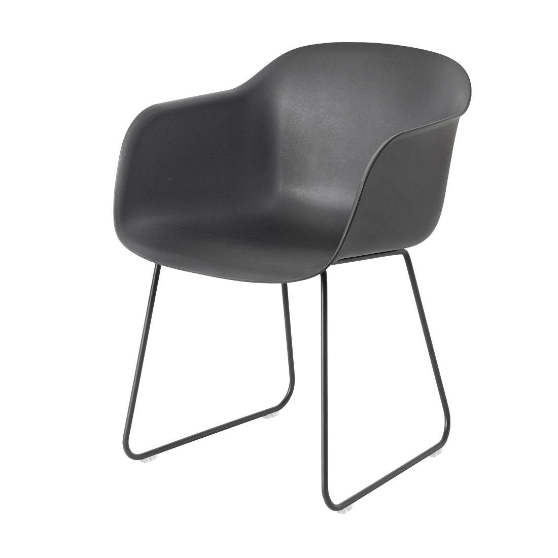 Muuto Fiber Chair Stoel, sledebasis