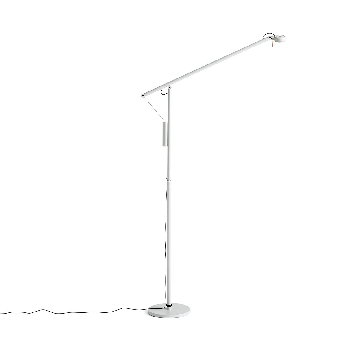 HAY Fifty-Fifty Vloerlamp - Ash grey