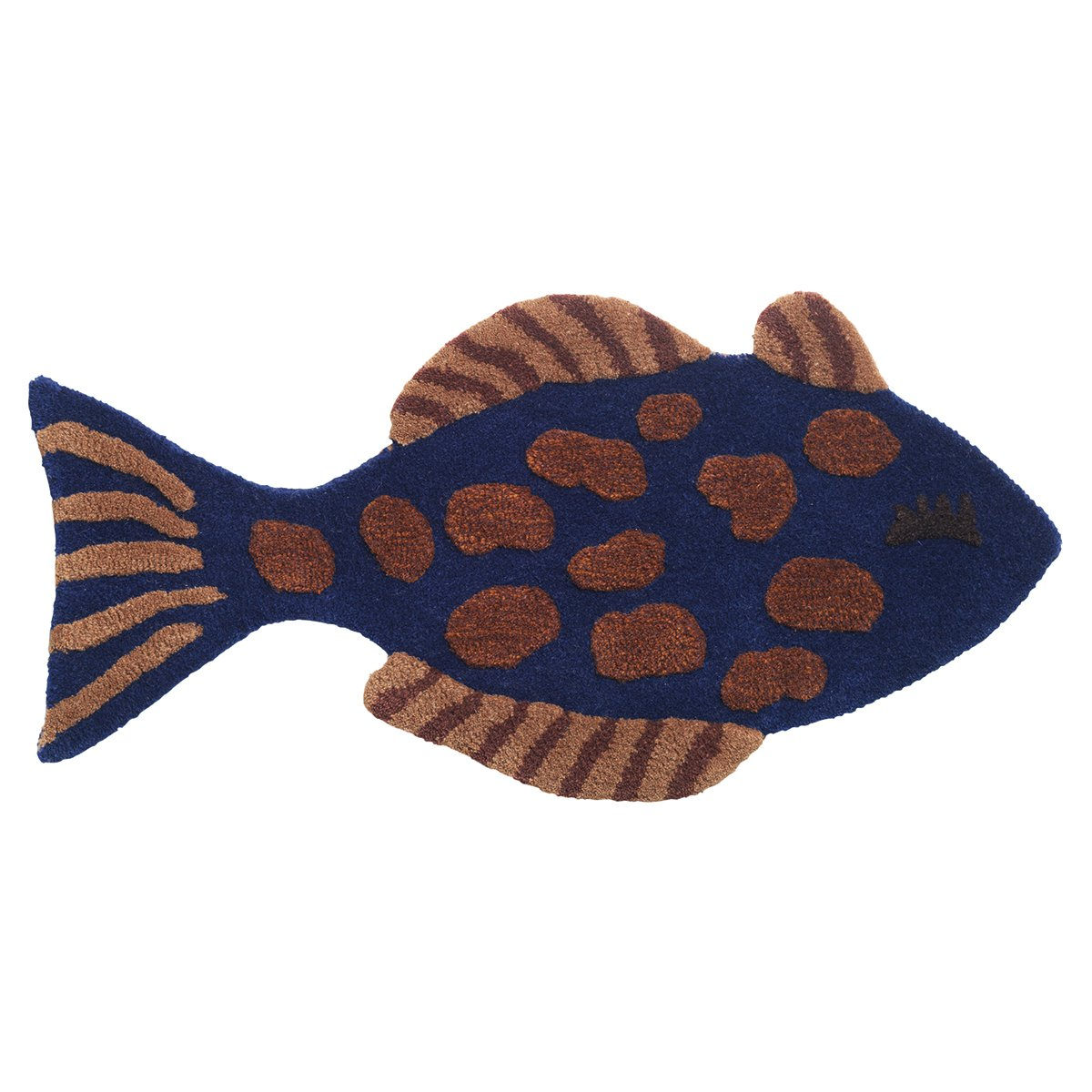 Ferm Living Fish Tufted Wand- en Vloerkleed