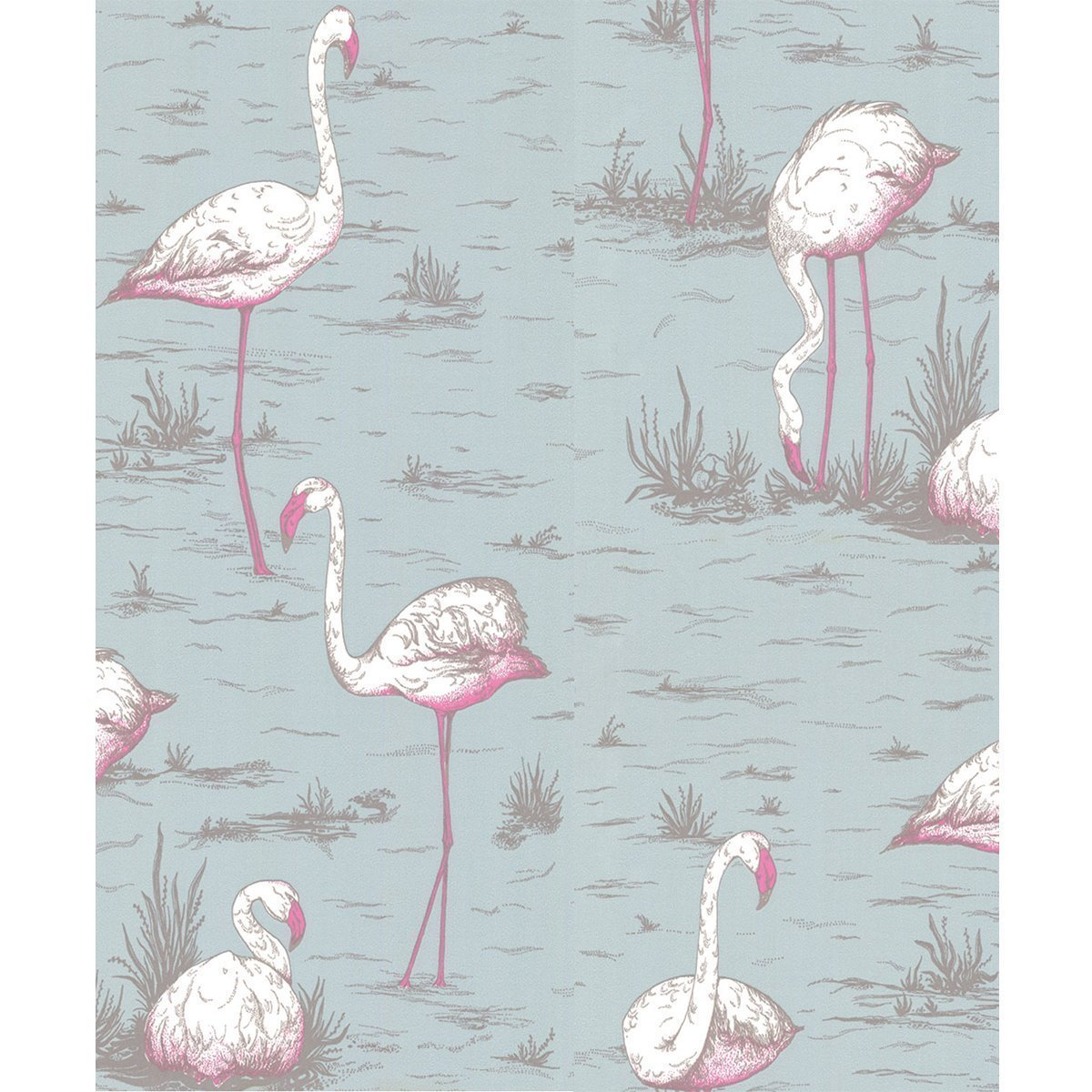 Cole & Son Flamingos behang - 666044