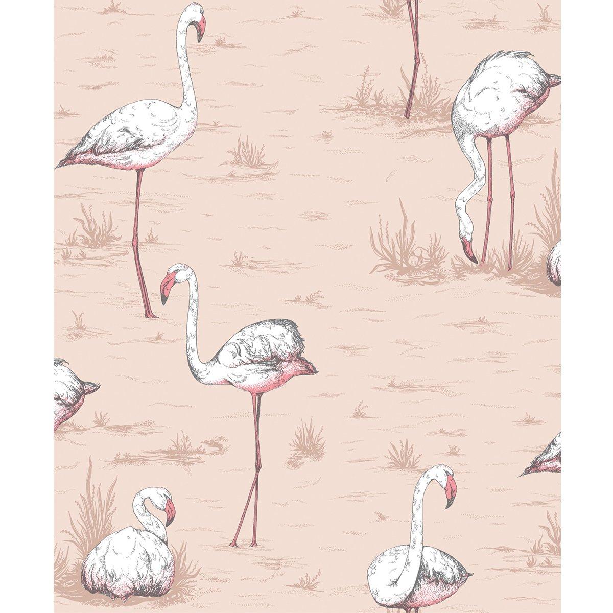 Cole & Son Flamingos behang - 11211039