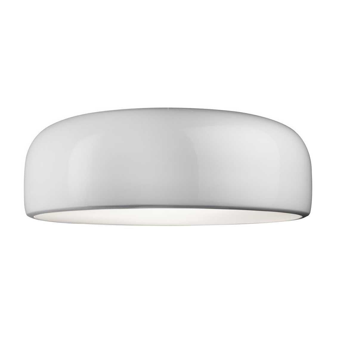 FLOS Smithfield Wand- en Plafondlamp Wit - LED